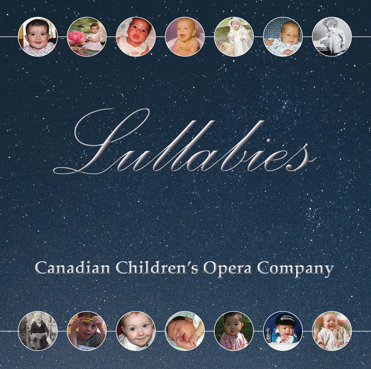Image: Lullabies CD Front Cover