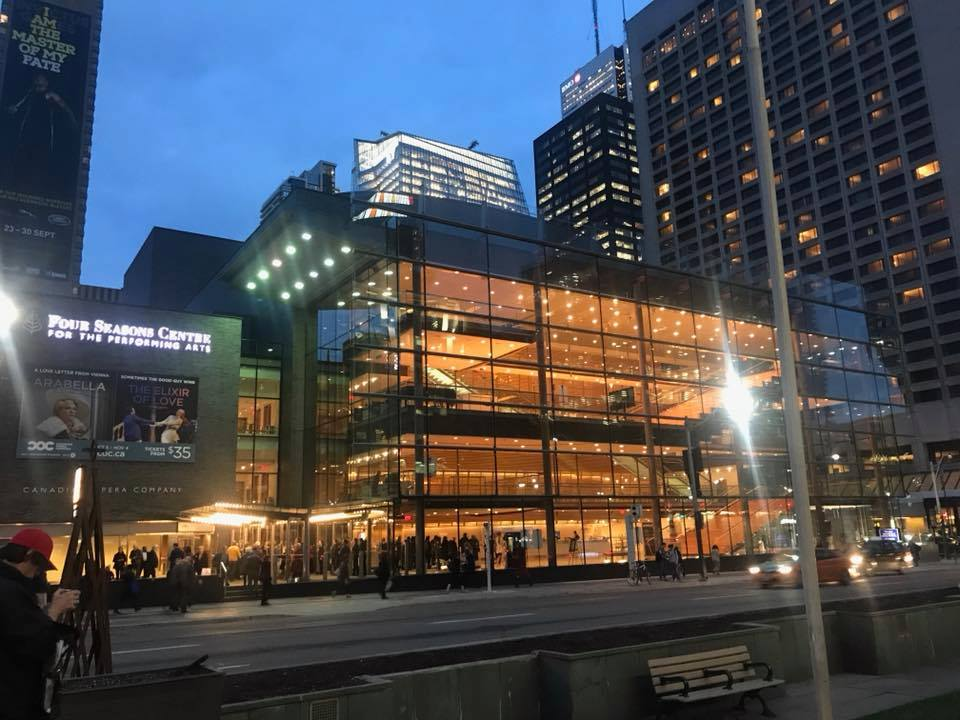 Four Seasons Centre for the Performing Arts, Toronto, concert, opera