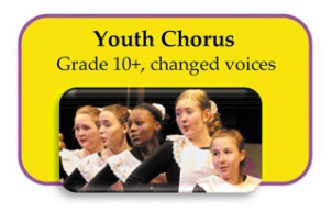 Youth Chorus for girls grades 10+ and boys with changed voices